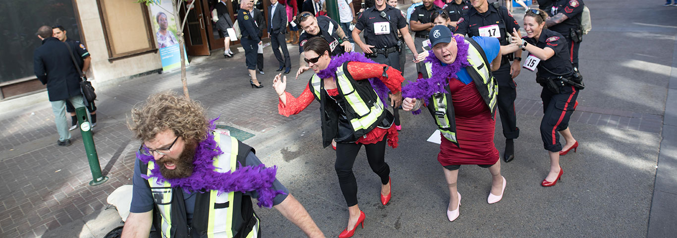WALK A MILE IN HER SHOES ®